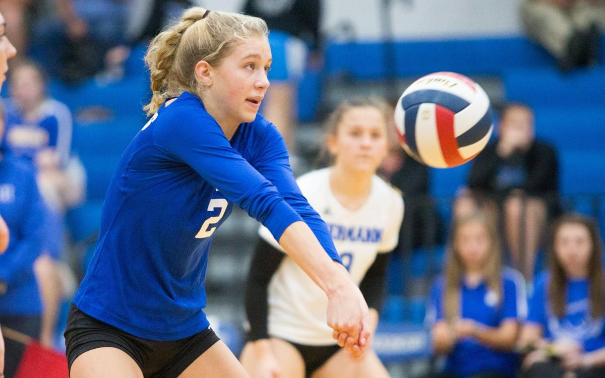Hermann vs. Pacific volleyball