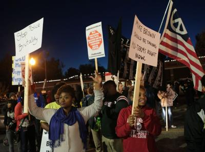 National Day of protest in Ferguson