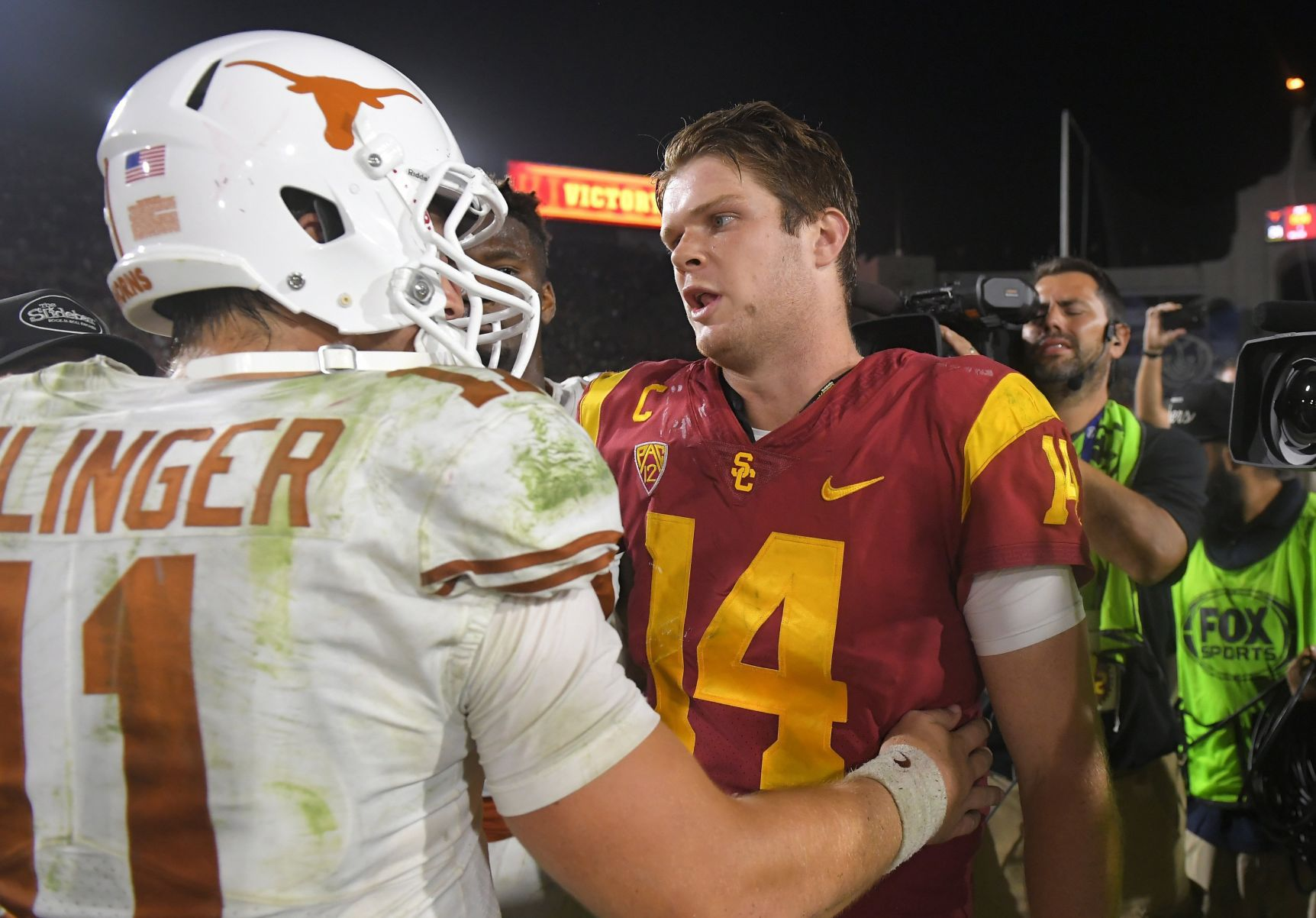 Miller: Sam Darnold, Trojans survive scare the size of Texas