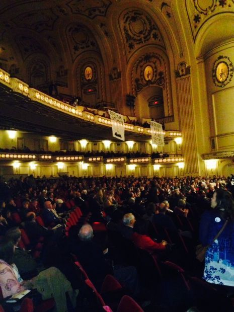 Michael Brown protesters at St. Louis Symphony