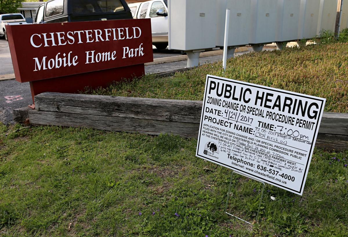 Chesterfield Mobile Home Park Developer Am I Going To Do It Is Someone Else