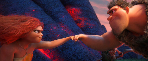 A maximalist family romp in 'The Croods: A New Age' | Movie reviews | stltoday.com