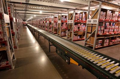 New Balance's Earth City distribution center