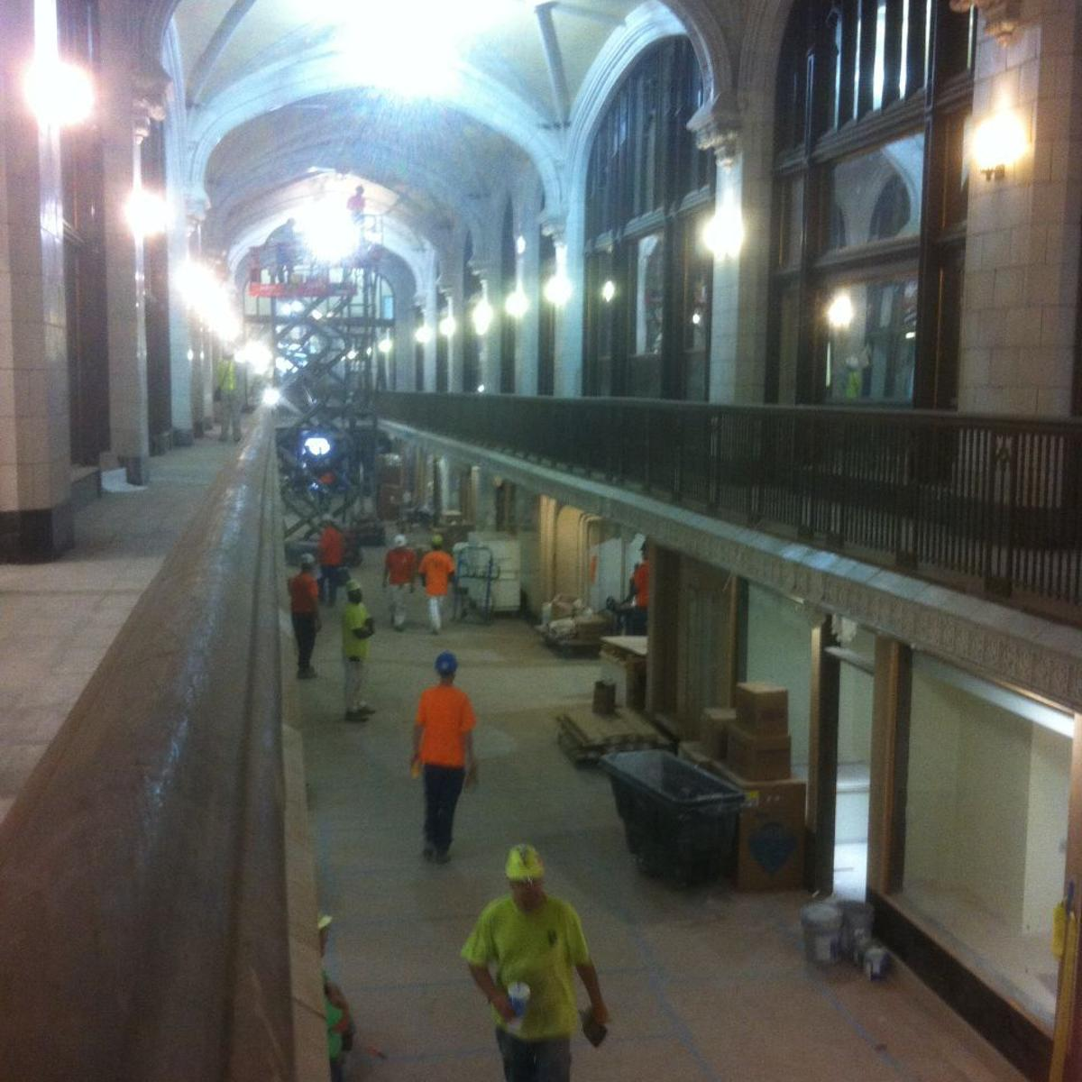 Arcade Building Downtown Is Fully Occupied Building Blocks