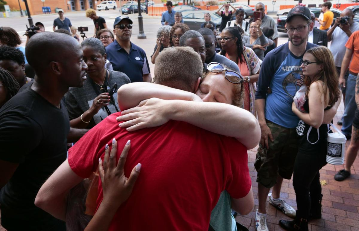 Galleria protesters released from county jail