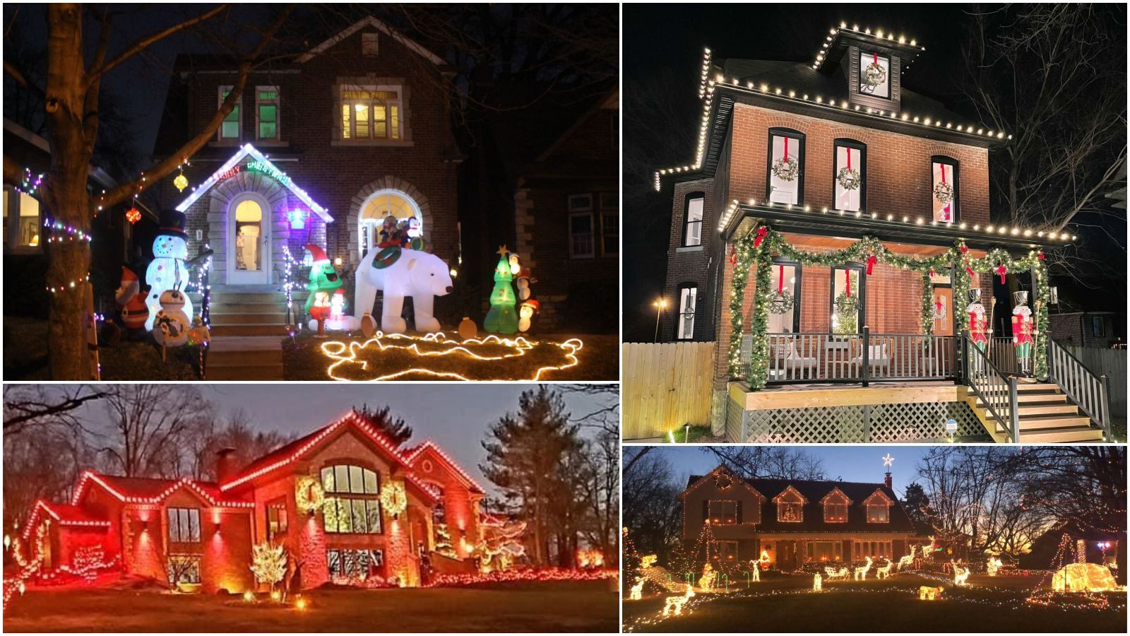 'Is your house on fire, Clark?' Readers submit photos of their festive holiday light displays
