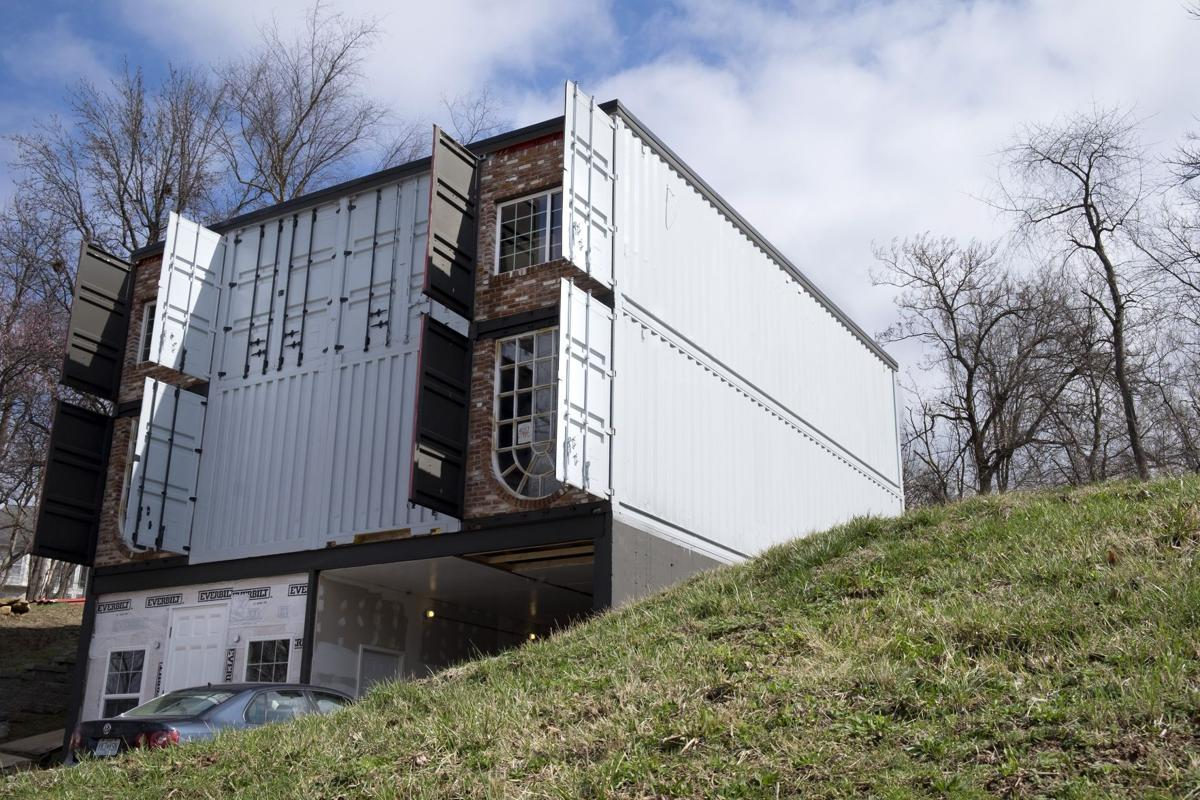 Remember that St. Charles home of shipping containers? It\'s on ...
