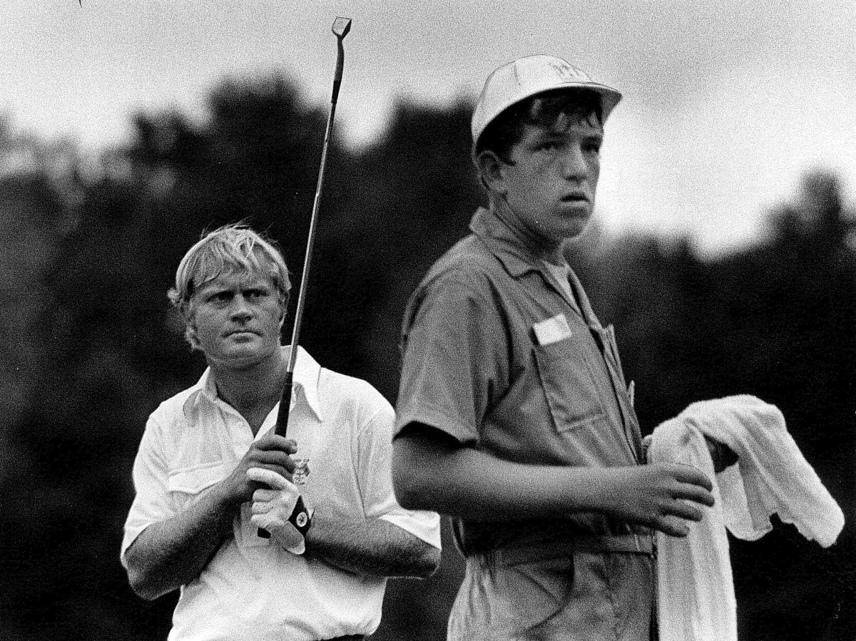 Caddy Mike Smith Ryder Cup 1971