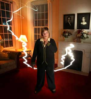 The ghost of Mary Sibley at Lindenwood University
