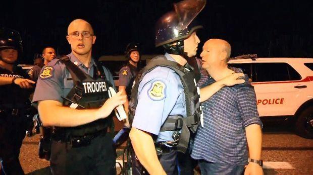 Canadian journalist arrested