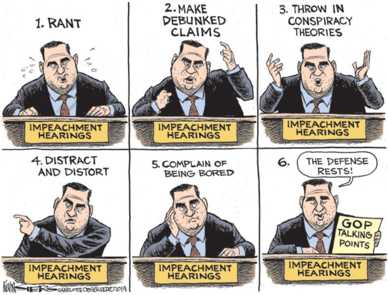In the cartoons: Impeachment; NRA; DACA