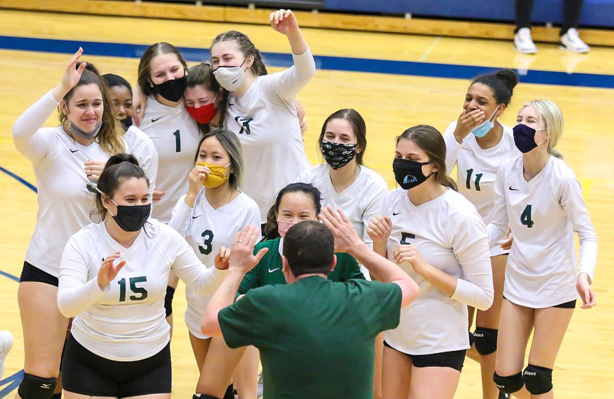 Bayless vs. Crossroads girls volleyball