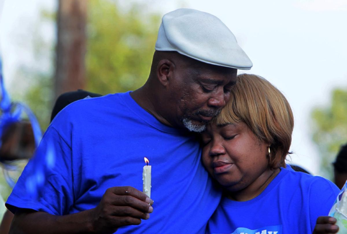 Family members mourn Normane Bennett