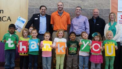 YMCA honors donation from Marshall Ford