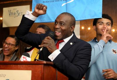 Lewis Reed election night 2019