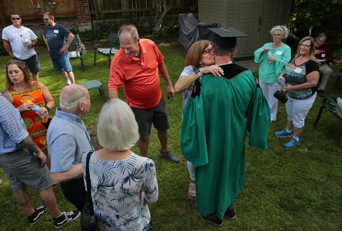 Former inmate looks toward future, earning bachelor's degree from Washington University