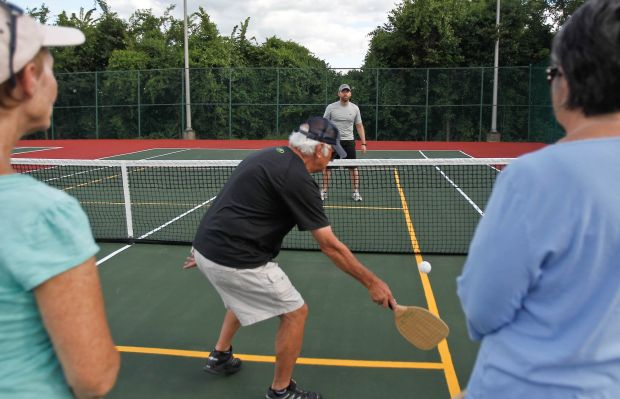 Pickleball Courts Players From Other Racket Sports