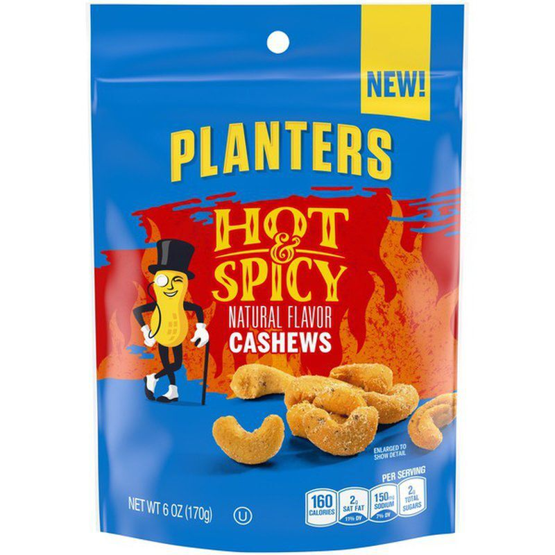 Planters' Hot and Spicy Cashews