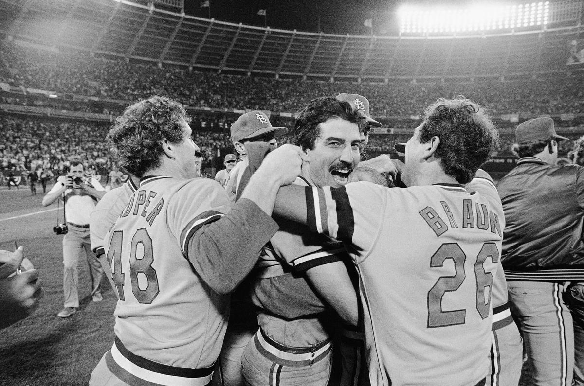 Cardinals vs Braves NL Playoffs 1982