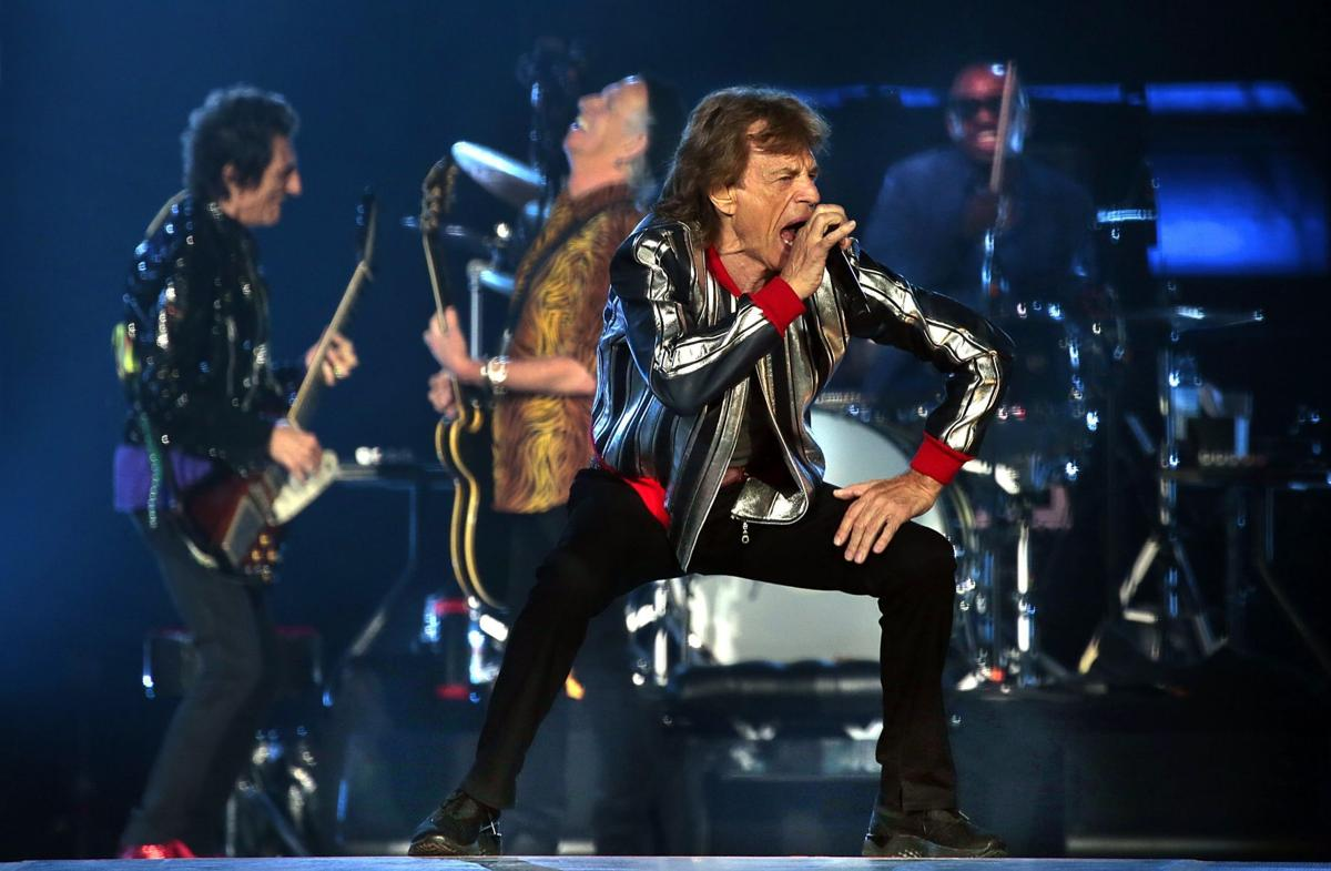 The Rolling Stones launch North American tour in St. Louis