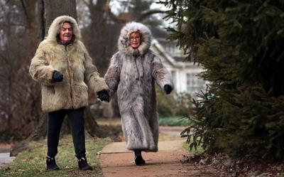 Weather brings out the fur in Clayton