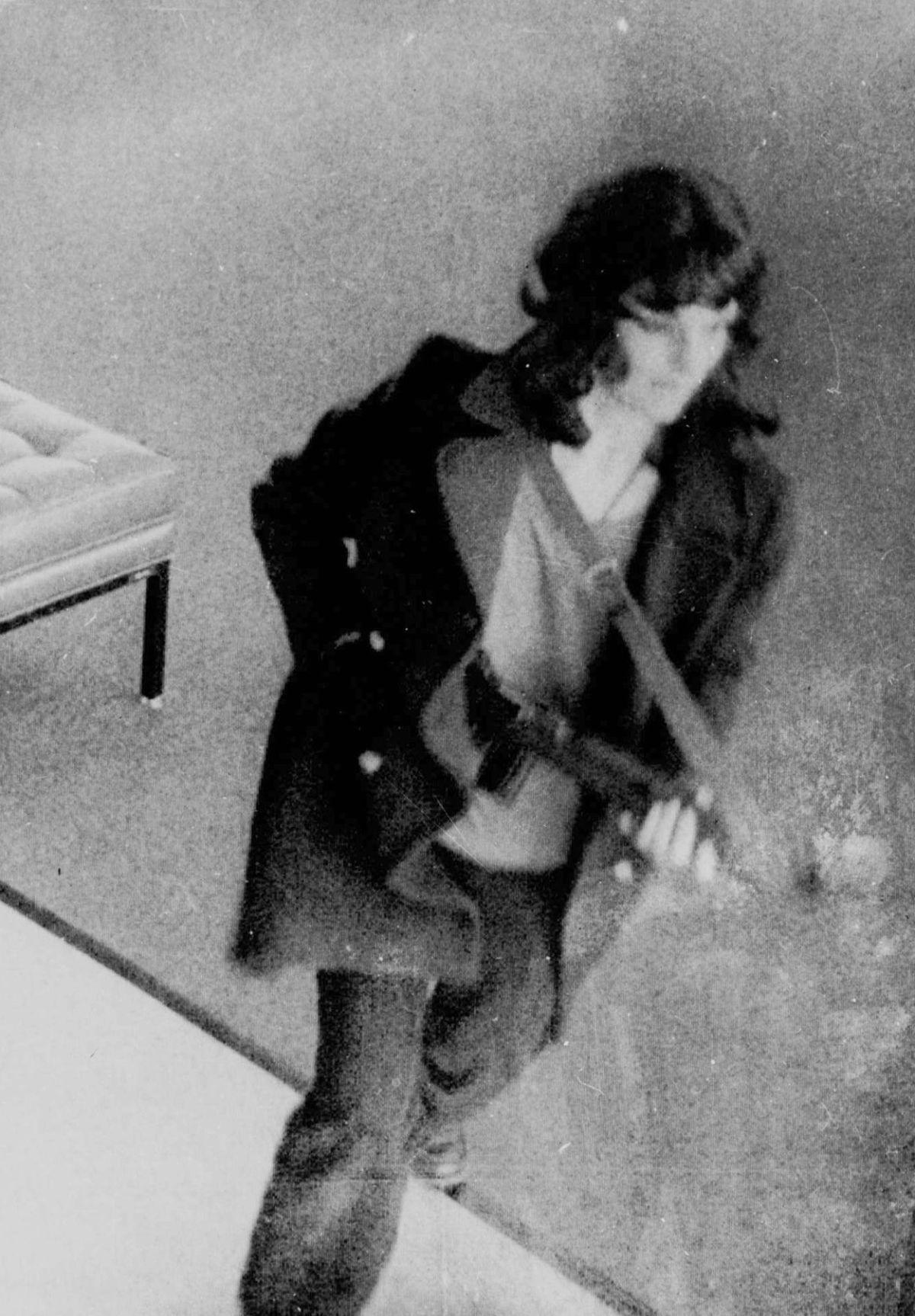 From the Archives: Patty Hearst arrives at the Hall of Justice
