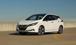 """2020 Nissan Leaf: Within its limitations, it can function as a """"normal"""" car."""