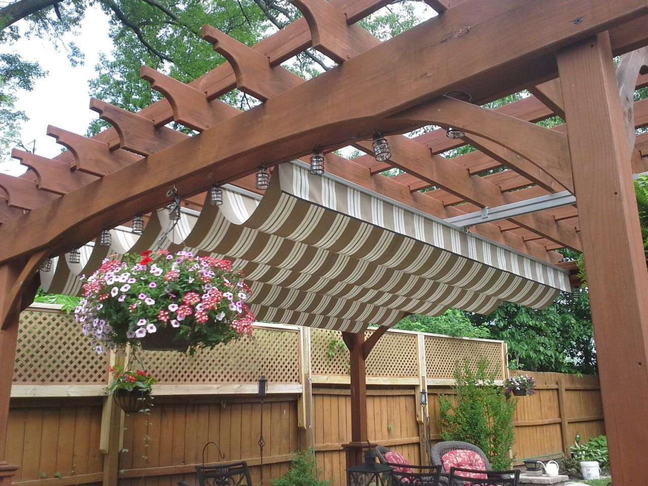 Marvelous Patio And Deck Roof Covers: EZ Shade Canopy