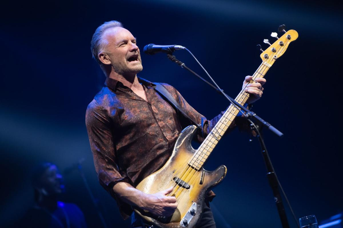 Sting, Variety Children's Chorus hit the right notes in