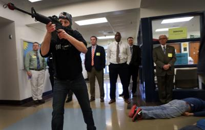 Law enforcement trains for 'active shooters' inside Troy Buchanan High