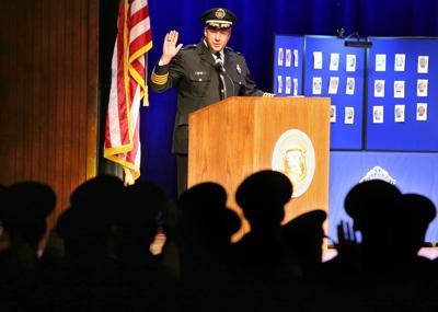 St. Louis Police acadmey graduation