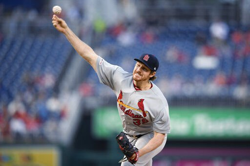 Mikolas, Cardinals down Nationals 5-1 for 5th win in row