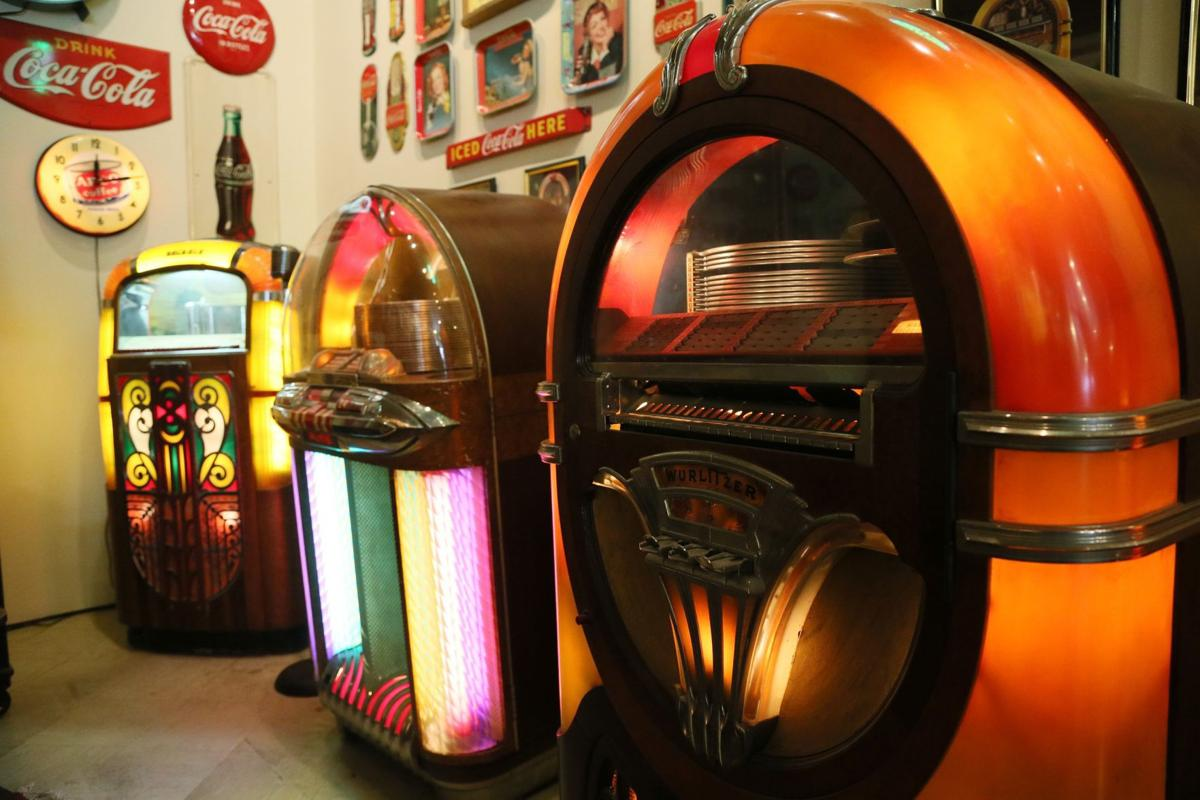 Jumpin' jukeboxes! Check out the memorabilia in this