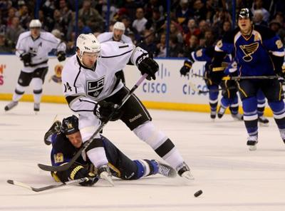 Blues host the L.A. Kings