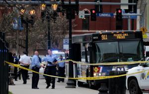 2 orang ditembak di Metro bus dekat SLU berikut argumen