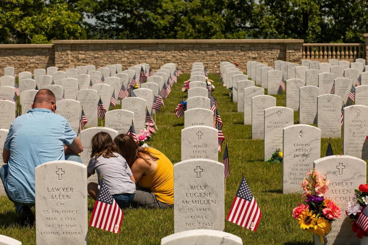 Families honor loved ones for Memorial Day Weekend