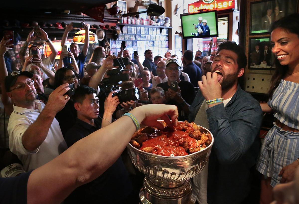 Photos: Eating T-Ravs from the Stanley Cup with Pat Maroon