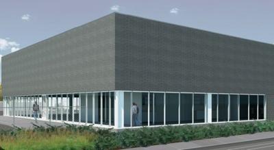 Laclede Gas Center Under Construction In St Louis Building Blocks
