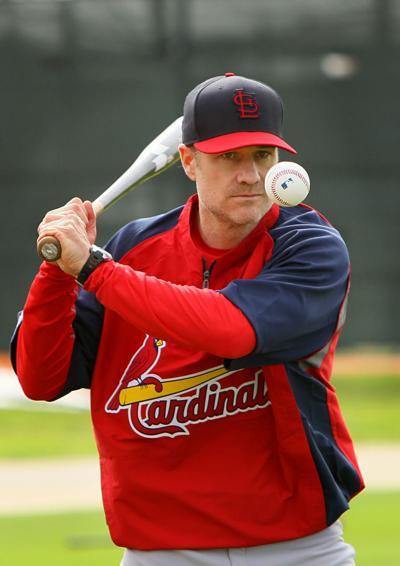 St. Louis Cardinals spring training David Bell