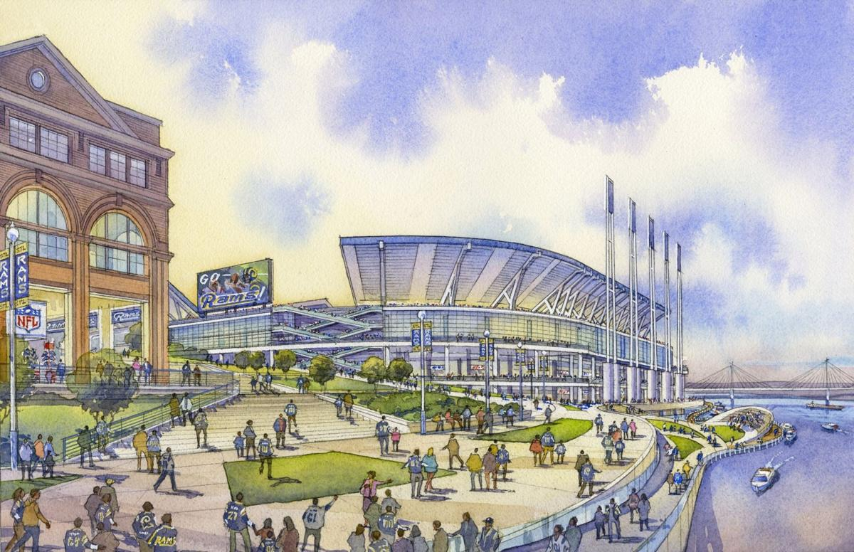 Peacock and Blitz Unveil Study for New St. Louis NFL Stadium