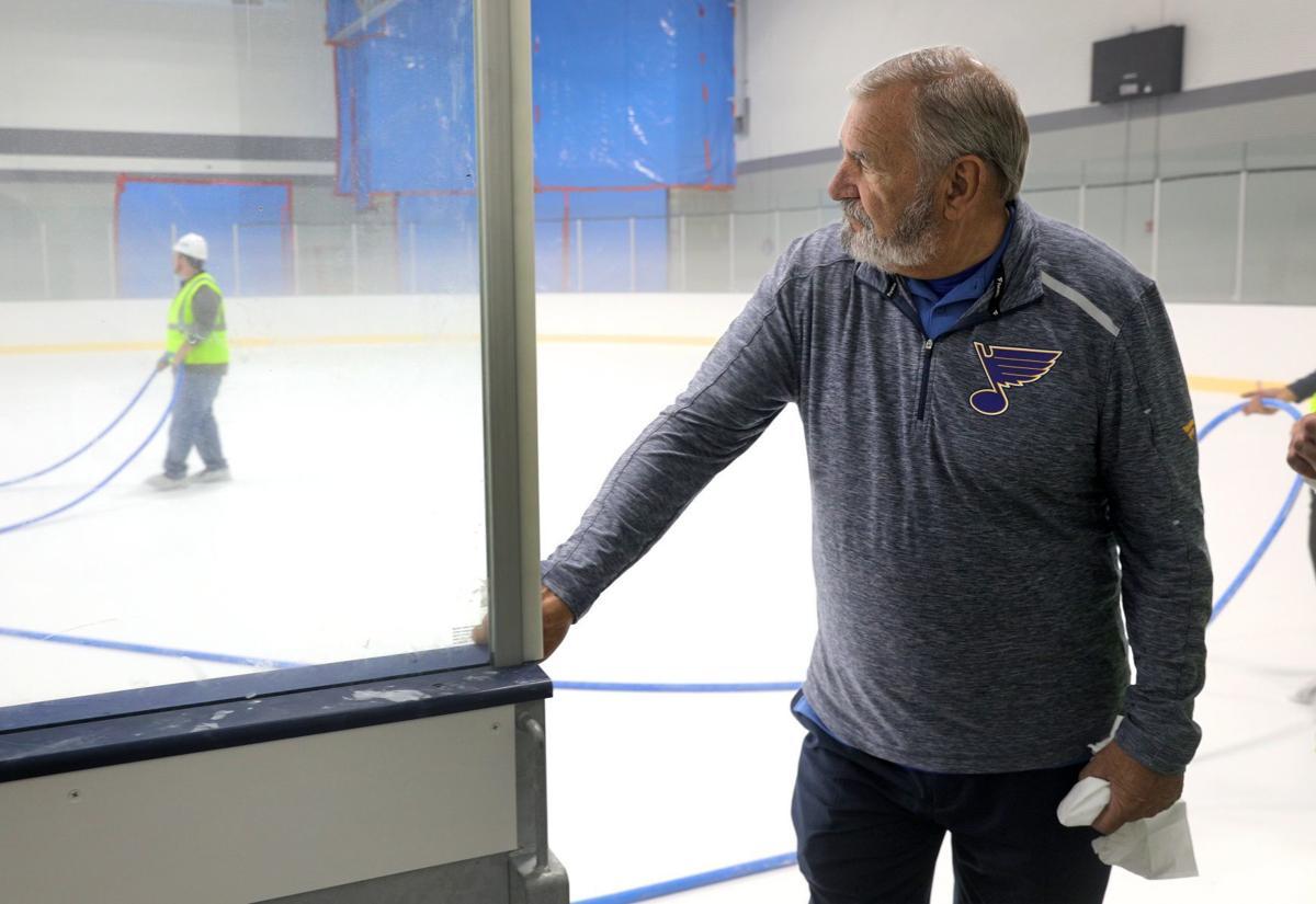 Progress brisk at Centene ice center