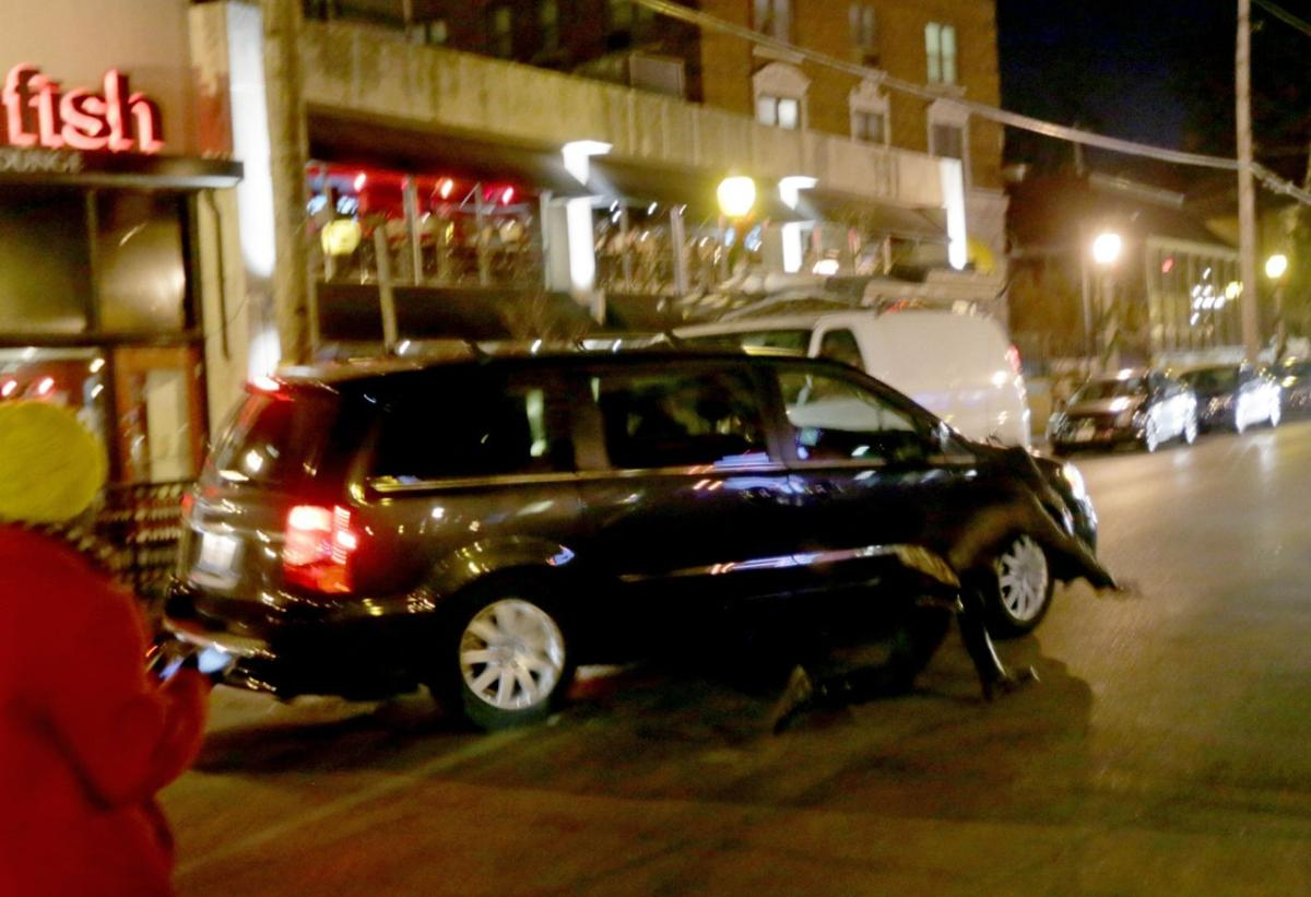 Motorist hits Central West End protesters