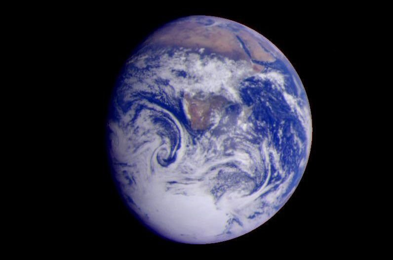 Earth - Full Disk View of Africa