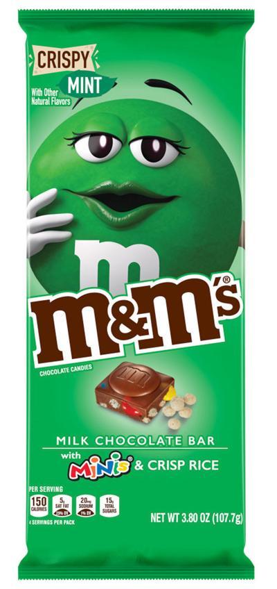 Best Bite: M&M's Crispy Mint Milk Chocolate Bar