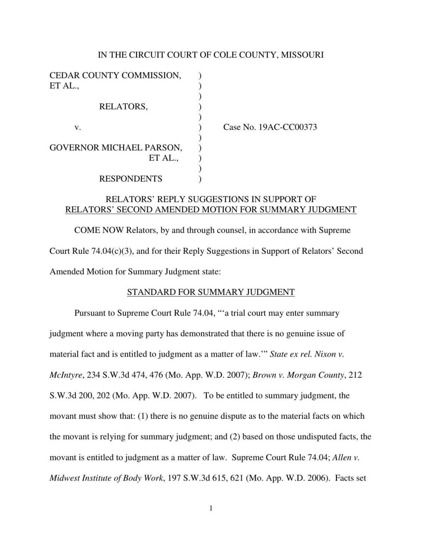 CAFO lawsuit brief