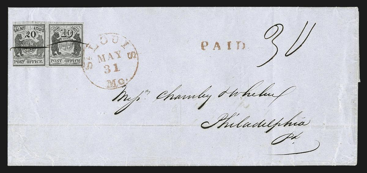 St Louis Bear Stamp