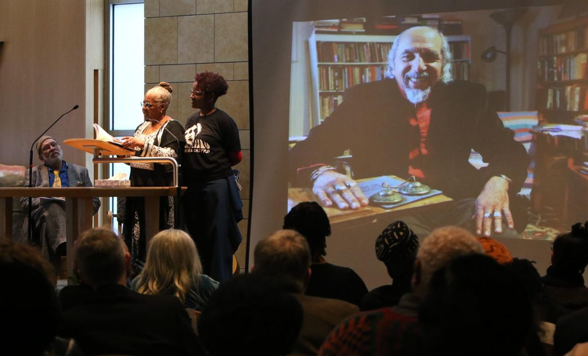 St. Louis' first poet laureate remembered at memorial service