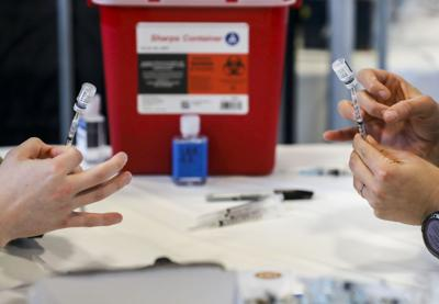 Long term mass vaccination site opens downtown