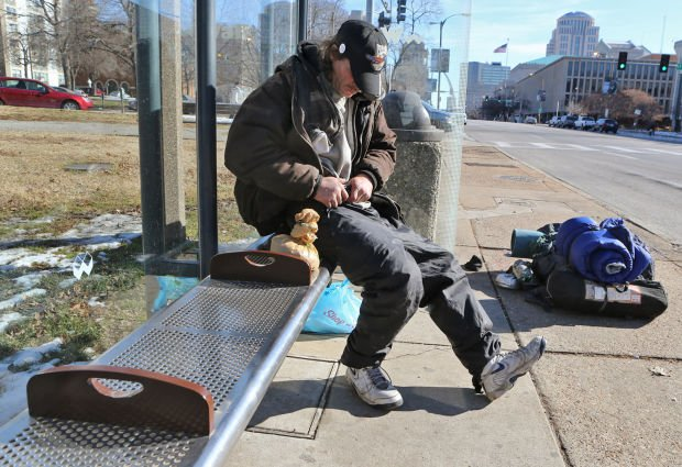 Metro adds dividers to bus shelter benches downtown