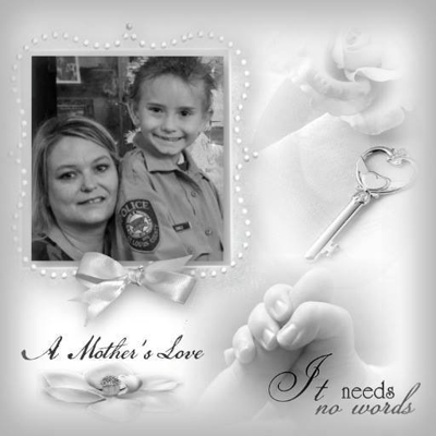 Wendy Hall-Onkle and her son Alex